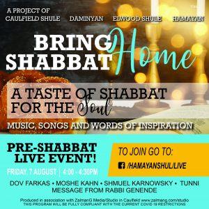 Bring Shabbat Home Part 1